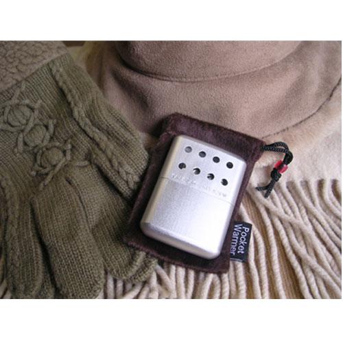 ポケットウォーマーKPW210(オイル給油式 携帯用カイロ)日本製 シルバー/50点入り(代引き不可)