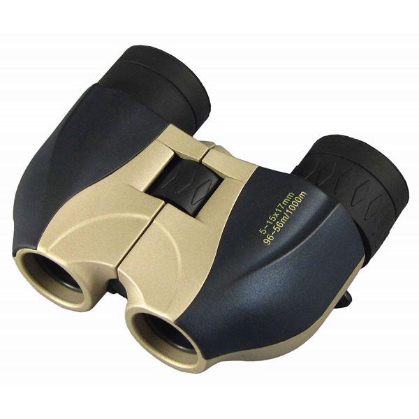 【MIZAR-TEC】ミザールテック 5~15倍17ミリ口径 ズーム コンパクト双眼鏡SSZ-515 /10点入り(代引き不可)