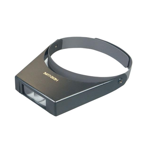ヘッドルーペ 倍率1.5~3.5倍 レンズ径28×75mm マジックテープバンド 日本製 RX-59 /20点入り(代引き不可)【S1】