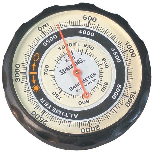 【SPALDING】スポルディング 気圧表示付高度計 ソフトケース付 日本製 NO610 /5点入り(代引き不可)【送料無料】