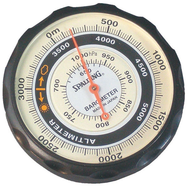 【SPALDING】スポルディング 気圧表示付高度計 ソフトケース付 日本製 NO610 /20点入り(代引き不可)