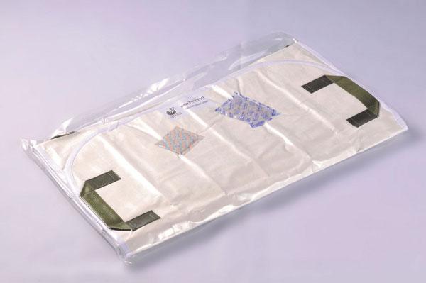 救護マット「アイマット」丸型収納 日本製 三つ折収納/5点入り(代引き不可)【送料無料】