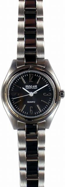 【ROGAR】ローガル レディース腕時計 RO-026L-BB 10気圧防水(日本製) /5点入り(代引き不可)
