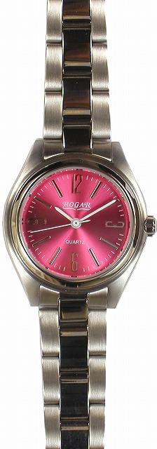 【ROGAR】ローガル レディース腕時計 RO-026L-PB 10気圧防水(日本製) /10点入り(代引き不可)