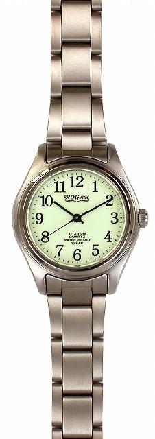 【ROGAR】ローガル レディース腕時計 RO-040L-RS 10気圧防水(日本製) /10点入り(代引き不可)