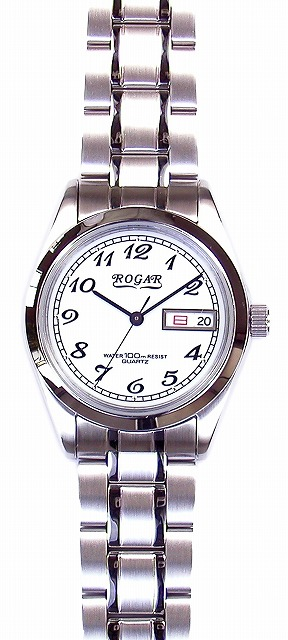 【ROGAR】ローガル メンズ腕時計 RO-064MB-S 10気圧防水(日本製) /5点入り(代引き不可)