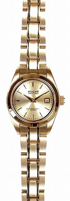 【ROGAR】ローガル レディース腕時計 RO-064LA-B 10気圧防水(日本製) /10点入り(代引き不可)