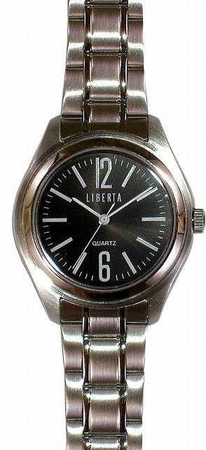 【LIBERTA】リベルタ メンズ腕時計 LI-032M-BS 10気圧防水(日本製) /5点入り(代引き不可)