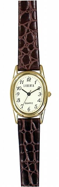 【LIBERTA】リベルタ レディース腕時計 LI-035AS-05 日常生活用防水(日本製) /5点入り(代引き不可)