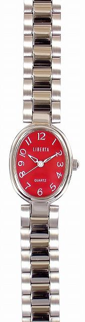 【LIBERTA】リベルタ レディース腕時計 LI-038LR 日常生活用防水(日本製) /10点入り(代引き不可)