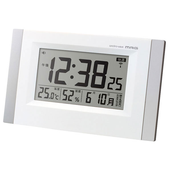 デジタル電波時計 W-600 エアサーチ カイザー /12個入り(代引き不可)