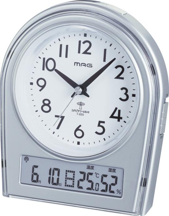 アナログ電波時計 T-655 コペル2 /30個入り(代引き不可)