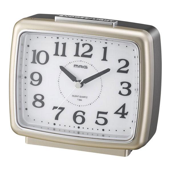 常時点灯目覚し時計 T-664 ナイトブライト /24個入り(代引き不可)【送料無料】