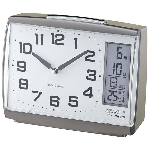 スタンダード目覚し時計 T-657 デイトインパクト /36個入り(代引き不可)