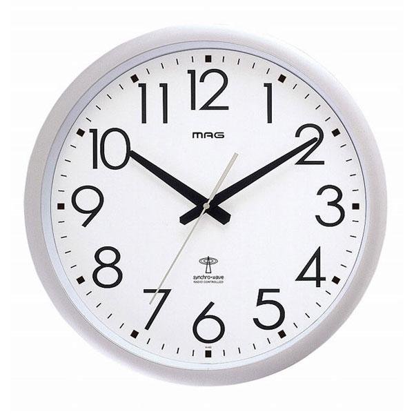 電波掛時計 W-462 ウェーブ420 /8点入り(代引き不可)【送料無料】