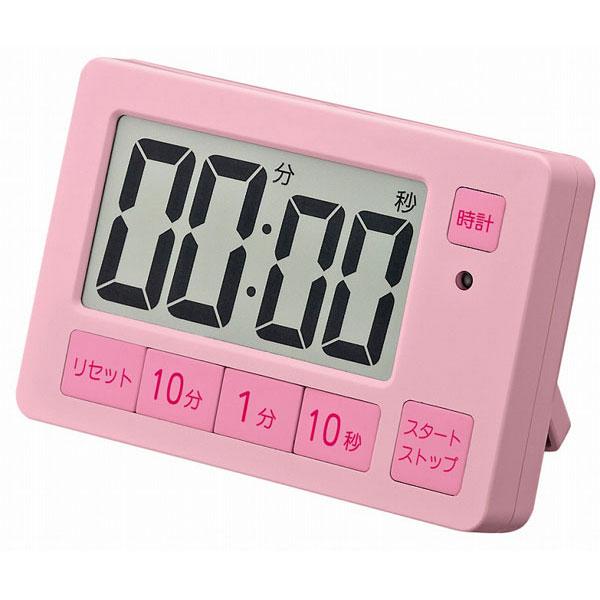 タイマー XXT504 音量切替機能付タイマー ピンク/100点入り(代引き不可)
