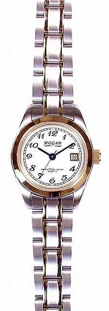 【ROGAR】ローガル レディース腕時計 RO-064LC-S 10気圧防水(日本製) /10点入り(代引き不可)