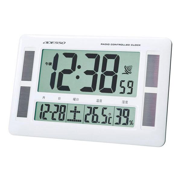 ソーラー電波時計 C-8273 ソーラー電波時計 C-8273/16点入り(代引き不可)