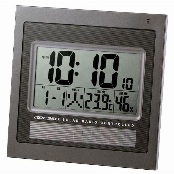 ソーラー電波時計 C-8214BK ソーラー電波時計 C-8214BK(代引き不可)