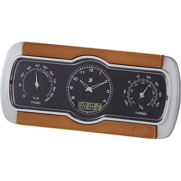 温湿度電波クロック C-8271 温湿度電波クロック C-8271/60点入り(代引き不可)