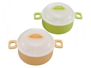 レンジ用容器 サムクック(日本製) サムクック(アソート)・グリーン/50点・オレンジ/50点(代引き不可)