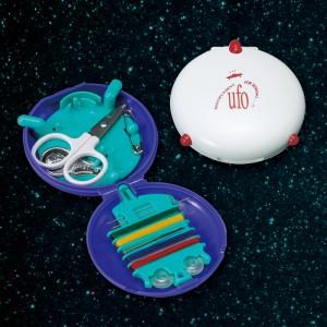 UFO・ソーイングセット(日本製) UFO・ソーイングセット(アソート)・パープル/150点・ホワイト/150点(代引き不可)