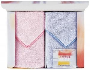 超吸水マイクロファイバークロス アピア2P(75匁)ギフト箱入り 日本製 マイクロファイバークロス アピア2P(日本製)/80点入り(代引き不可)