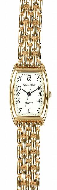 【Future Club】フューチャークラブ レディース腕時計 FC-033L-AS 日常生活用防水(日本製) /5点入り(代引き不可)