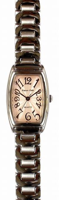 【Future Club】フューチャークラブ レディース腕時計 FC-033L-PS 日常生活用防水(日本製) /5点入り(代引き不可)