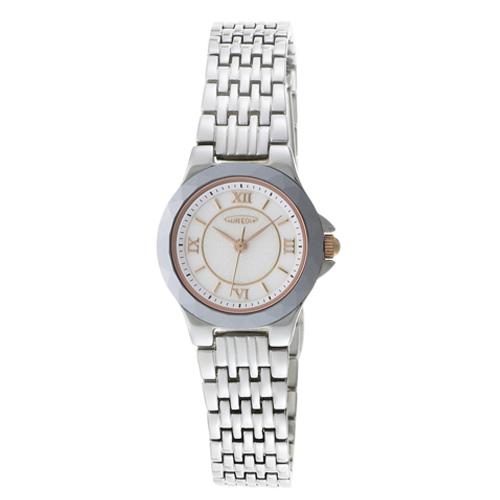 【AUREOLE】オレオール レディース腕時計 SW-489L-3 アナログ表示 薄型 超硬質合金ベゼル 日常生活用防水 /5点入り(代引き不可)