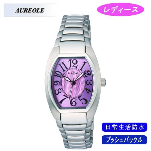 AUREOLE オレオール レディース腕時計 SW-488L-4 アナログ表示 日常生活用防水 10点入り 代引き不可 送料無料 当店おすすめ 通販 ブライダル ホワイトデー