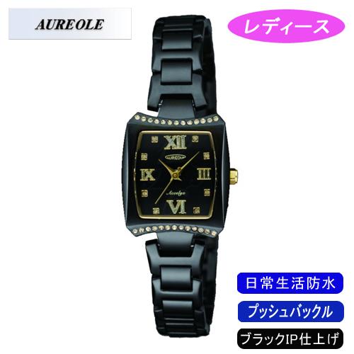 【AUREOLE】オレオール レディース腕時計 SW-498L-1 アナログ表示 日常生活用防水 /10点入り(代引き不可)