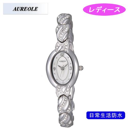 【AUREOLE】オレオール レディース腕時計 SW-476L-3 アナログ表示 日常生活用防水 /10点入り(代引き不可)