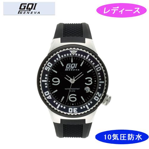 【GQI GENEVA】 ジェネバ レディース腕時計 GQ-112-1 アナログ表示 10気圧防水 /10点入り(代引き不可)