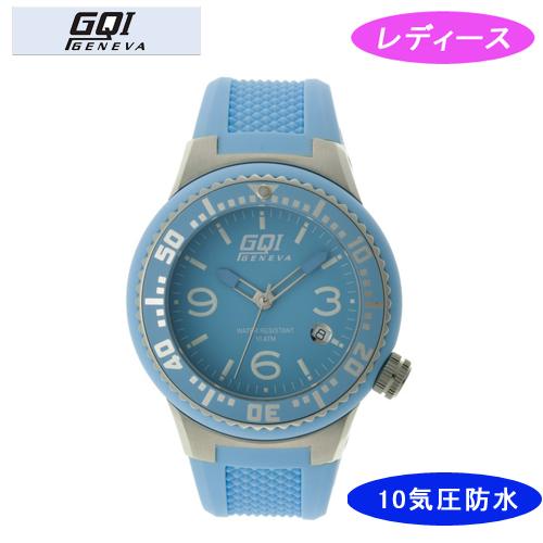 【GQI GENEVA】 ジェネバ レディース腕時計 GQ-112-5 アナログ表示 10気圧防水 /5点入り(代引き不可)