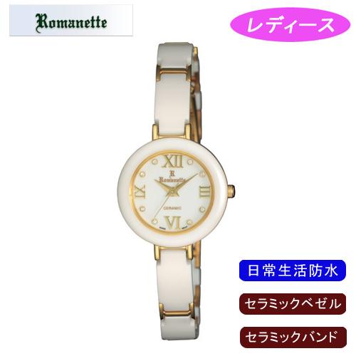 【ROMANETTE】ロマネッティ レディース腕時計 RE-3524-L-2 アナログ表示 日常生活用防水 /1点入り(代引き不可)
