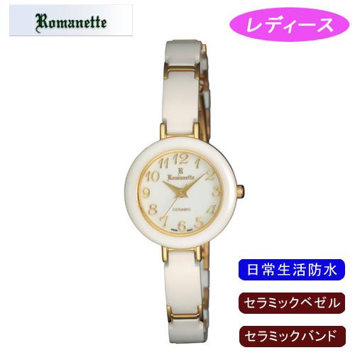 【ROMANETTE】ロマネッティ レディース腕時計 RE-3524-L-4 アナログ表示 日常生活用防水 /5点入り(代引き不可)