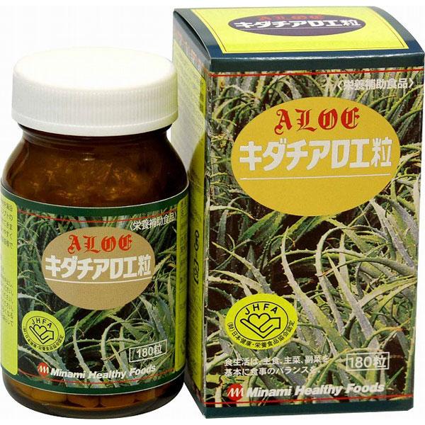 キダチアロエ粒180粒(日本製) /40点入り(代引き不可)【S1】