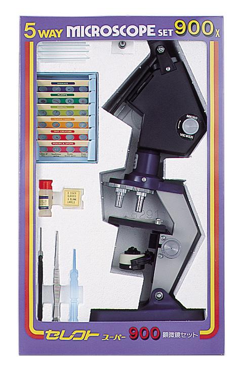 【MIZAR-TEC】ミザールテック 学習顕微鏡セレクトスーパー900 300~900倍(日本製) /1点入り(代引き不可)