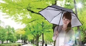 晴雨兼用 折りたたみシルバーコート日傘 /60点入り(代引き不可)【送料無料】