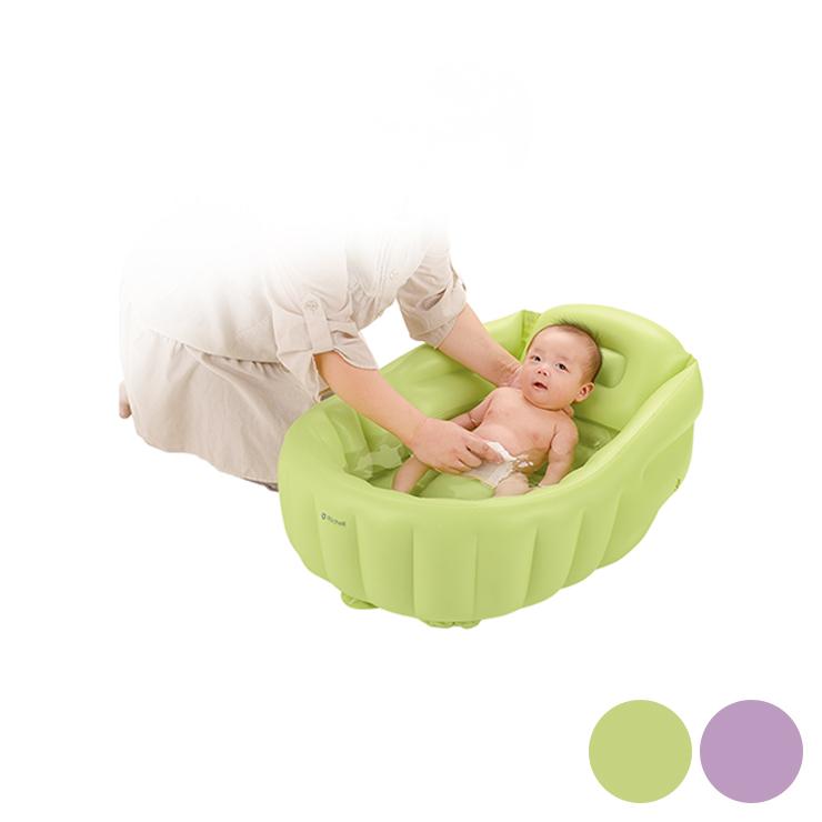 Richell (Richelle) Shark Shark Baby W Green (GR), Purple (PR) Bath For Your  Baby