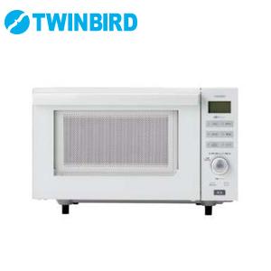 ツインバード フラットオーブンレンジ DR-E852W ホワイト センサー付き 電子レンジ オーブンレンジ【送料無料】