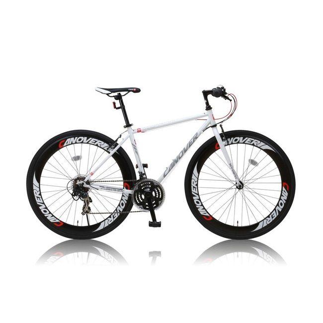 CANOVERR カノーバ― クロスバイク CAC-025 NYMPH ホワイト(代引不可)【送料無料】