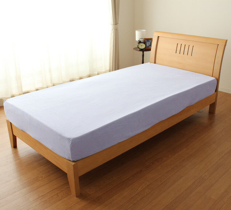 The simple putting on and taking off that a pile sheet single size  mattress, bed combined use dough touch getting soggy is just comfortable at  ease