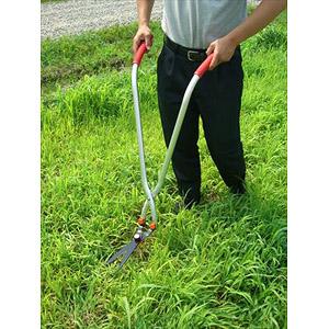 ガーデン用品 ガーデニング 芝刈り はさみ ハサミ 草刈り 芝刈り 立ち作業用草刈りハサミ 立ち作業用草刈りハサミ(代引き不可)