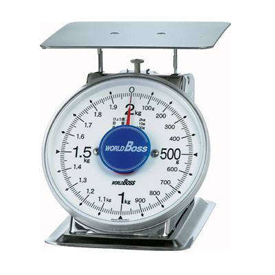 ワールドボス WORLD BOSS ステンレス製 上皿自動秤 SAVIない サビナイ 2kg(代引不可)【送料無料】
