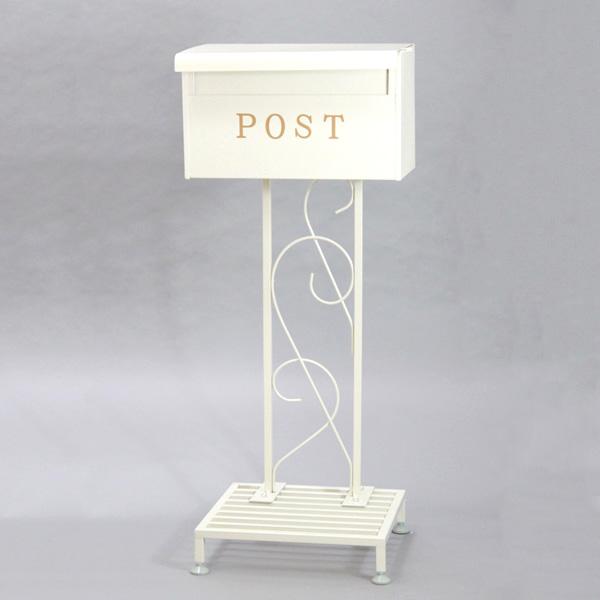 サンニード ポストスタンド ポスト 郵便受け 郵便ポスト ポストスタンド(代引不可)【送料無料】