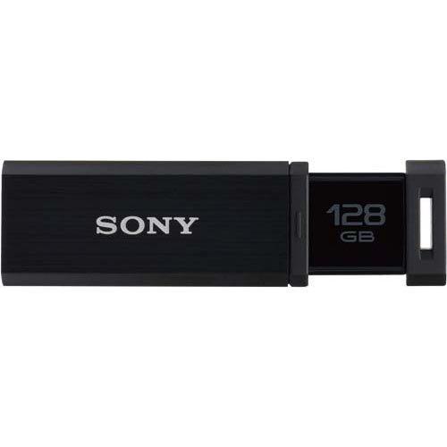 SONY ソニー USB3.0対応 ノックスライド式高速(226MB/s)USM128GQX B (フラッシュメモリ)