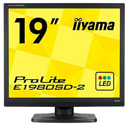 飯山電機 液晶ディスプレイ 19インチ 黒 1280×1024 E1980SD-B2