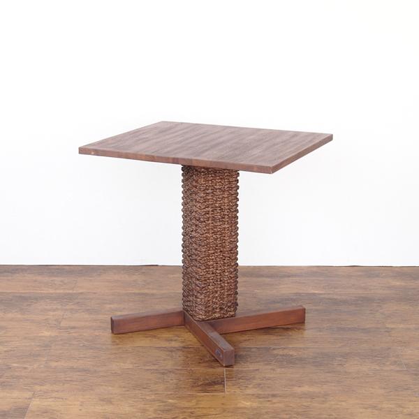 カフェテーブル 角型 @CBi(アクビィ) ACTS69DK 家具 インテリア カフェテーブル サイド コーヒー 机 チーク 木製(代引不可)【送料無料】